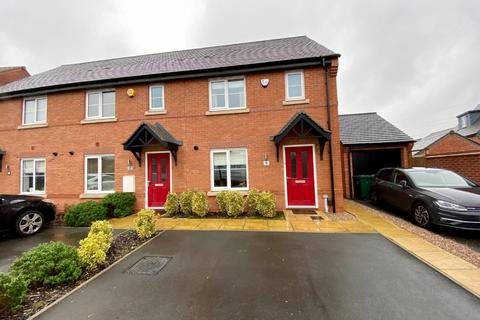 3 bedroom end of terrace house for sale - Warwick Close, Littleover, Derby