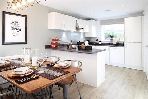 Taylor Wimpey - Kingsbourne - Plot 287, Sinclair at Wistaston Brook, Wistaston Brook, Church Lane, Wistaston, Crewe CW2