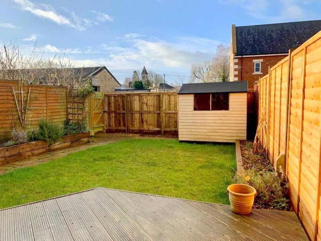 Rear garden and rear access