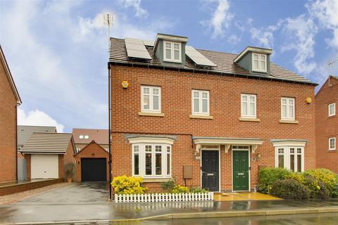 3 bedroom semi-detached house for sale - Paulina Avenue, Hucknall, Nottinghamshire, NG15 8JA