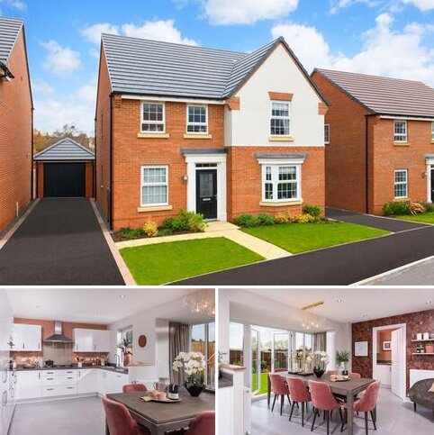 4 bedroom detached house for sale - Plot 52, Holden at David Wilson Homes at Kibworth, Fleckney Road, Kibworth, LEICESTER LE8