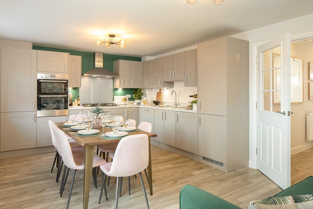 Plot 2 Stambridge Kitchen/ dining area