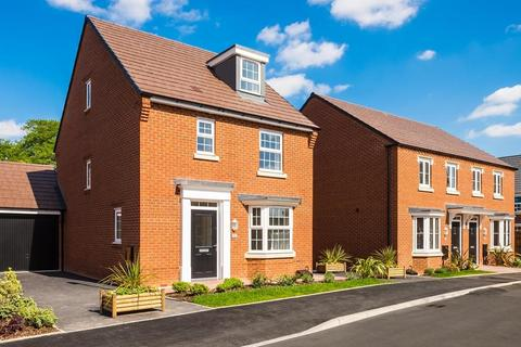 3 bedroom detached house for sale - Plot 100, Bayswater Plus at Bertone Gardens, Warkton Lane, Barton Seagrave, KETTERING NN15