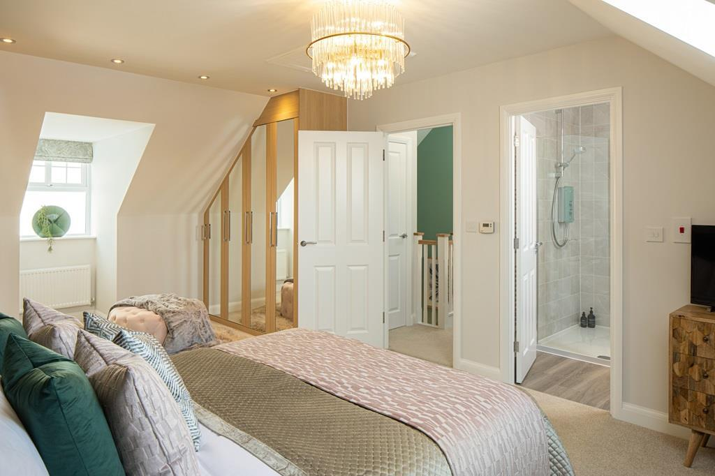 Plot 2 Stambridge ensuite to the master