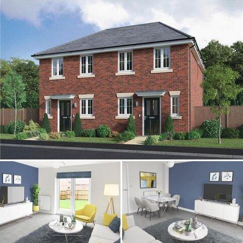 2 bedroom semi-detached house for sale - Plot 63, Belmont at Miller Homes @ Myton Green, Europa Way, Warwick CV34