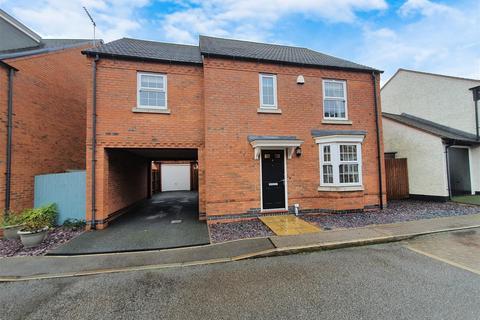 4 bedroom detached house for sale - Cornfield Close, Ellistown, Coalville