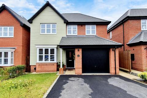 4 bedroom detached house for sale - Farmers Way, Hugglescote, Coalville