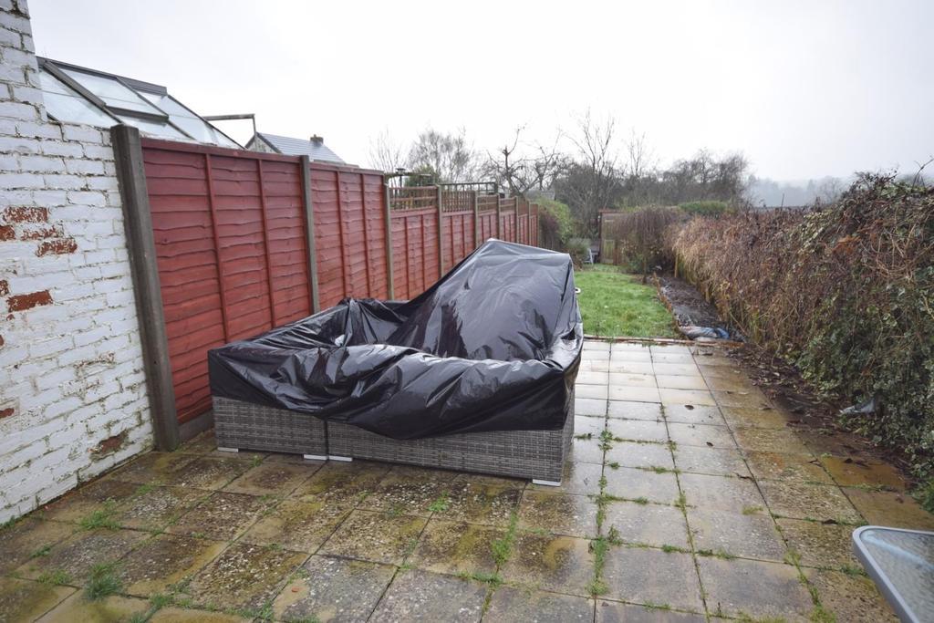 South aspect rear garden