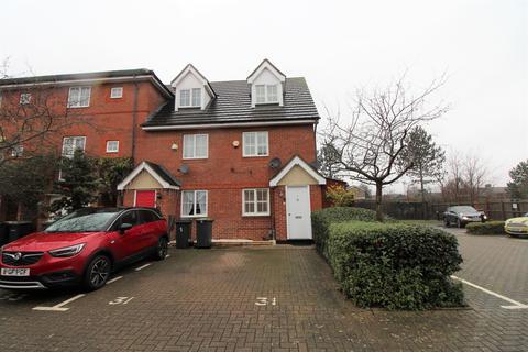 3 bedroom end of terrace house for sale - Ellington Road, Bedford, MK42