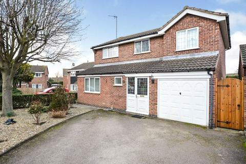 4 bedroom detached house for sale - Ludlow Close, Oadby, Leicester, LE2