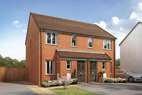 2 bedroom semi-detached house for sale - Plot 398, The Alnwick at Gilden Park, 104 Old Oak Way CM17