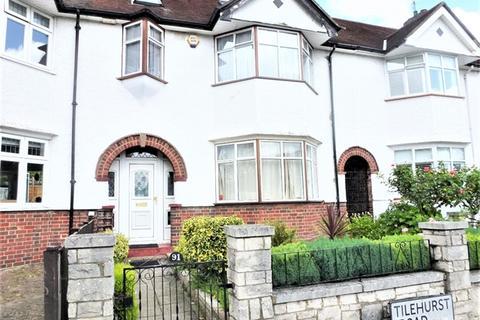 4 bedroom terraced house to rent - Tilehurst Road, Earlsfield, London,  SW18 3EX
