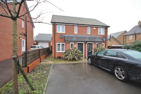 2 bedroom semi-detached house to rent - Bucksey Close, Coventry