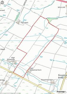 Land for sale - Land at High Rowantree Farm, St Johns Chapel