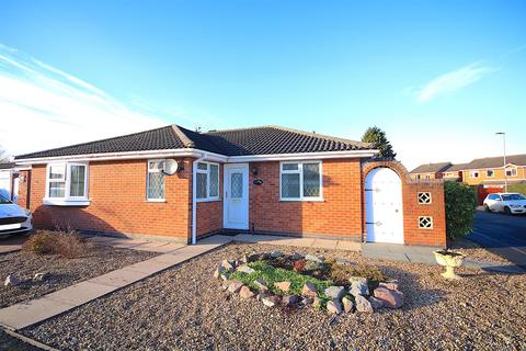 2 bedroom semi-detached bungalow for sale - St. Hildas Close, Syston