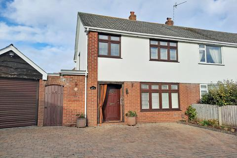 3 bedroom semi-detached house for sale - Iford Close, Bournemouth, BH6