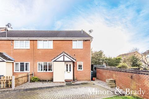 2 bedroom end of terrace house for sale - Bluebell Close, Scarning
