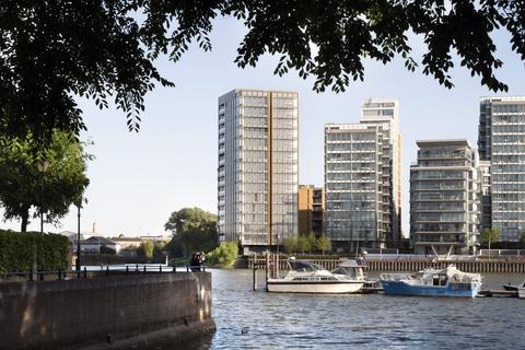 1 bedroom flat for sale - Riverside Quarter, Wandsworth, London, SW18