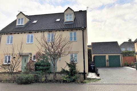3 bedroom semi-detached house for sale - St Aldhelms Close, Malmesbury