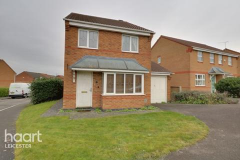 3 bedroom detached house for sale - Murby Way, Leicester