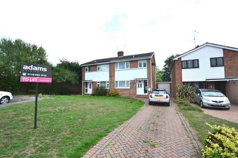 3 bedroom semi-detached house to rent - Fowler Close, Earley, Reading
