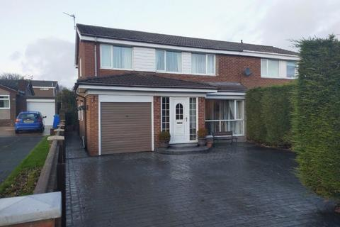4 bedroom semi-detached house for sale - Barrowburn Place, Seghill