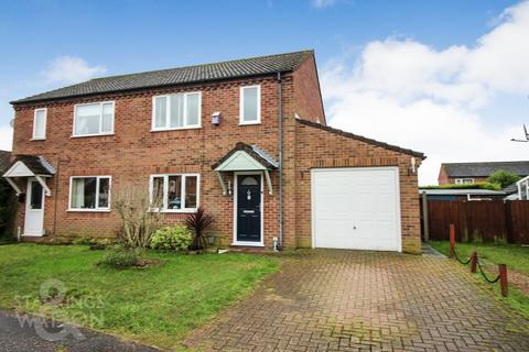 3 bedroom semi-detached house for sale - White Gates, Costessey, Norwich