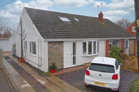 3 bedroom semi-detached bungalow for sale - Stock Lane, Wybunbury, Cheshire