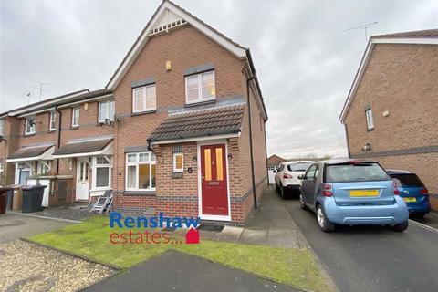 3 bedroom townhouse for sale - Sanders Close, Shipley View, Derbyshire