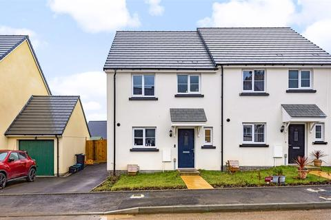 3 bedroom semi-detached house for sale - Horseshoe Drive, Newton Abbot, Devon