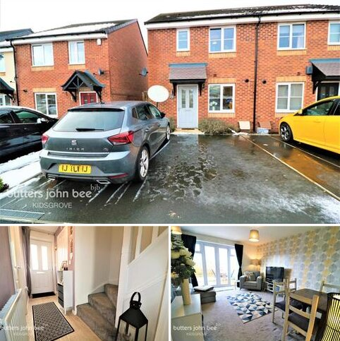 3 bedroom semi-detached house for sale - Bambury Drive, Stoke-On-Trent