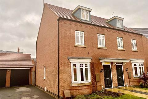 3 bedroom semi-detached house for sale - Hilary Bevins Close, Higham On The Hill