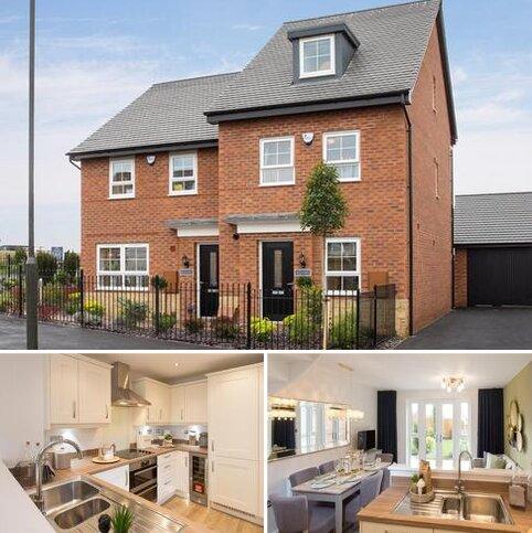 4 bedroom semi-detached house for sale - Plot 249, Kingsville at Barratt Homes @Mickleover, Kensey Road, Mickleover, DERBY DE3