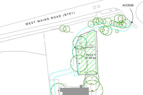 Land for sale - Plot 1, West Mains Road, East Kilbride, G74 1PT