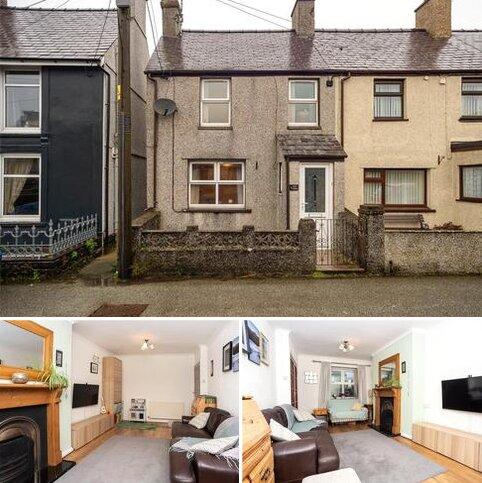 2 bedroom end of terrace house for sale - Station Road, Llanrug, Caernarfon, Gwynedd, LL55