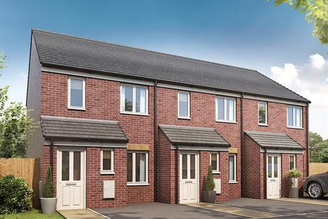 2 bedroom terraced house for sale - Plot 7, The Alnwick at Tir Y Bont, Heol Stradling, Coity CF35
