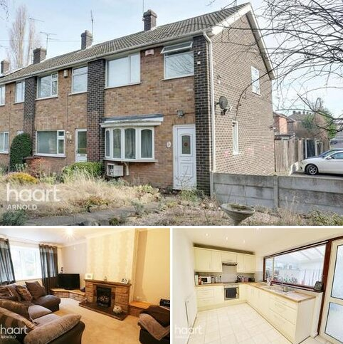 3 bedroom end of terrace house for sale - Mansfield Road, Nottingham