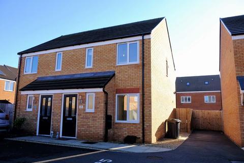 2 bedroom semi-detached house to rent - Cumberleaf Close, Woodston, PETERBOROUGH, PE2