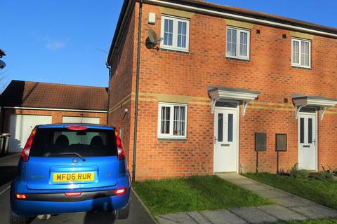 2 bedroom semi-detached house for sale - Maybury Villas, Longbenton, Newcastle upon Tyne, Tyne and Wear, NE12 8RF