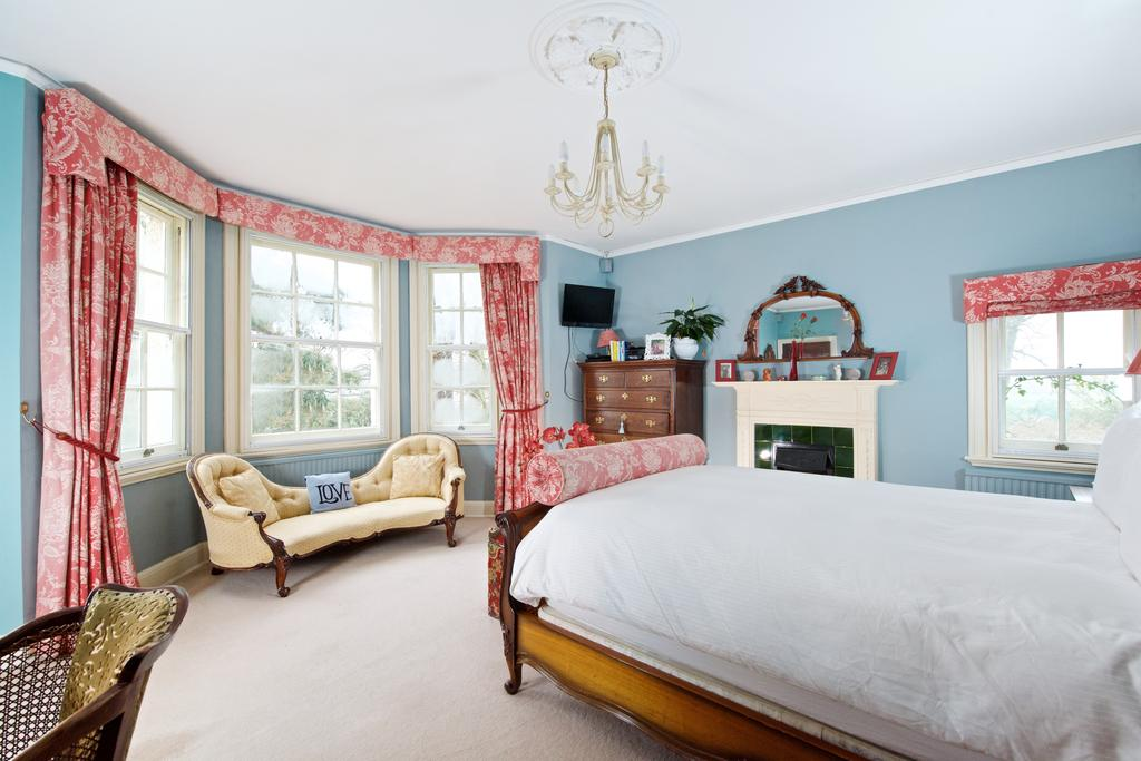 Bedroom at Tyringham House