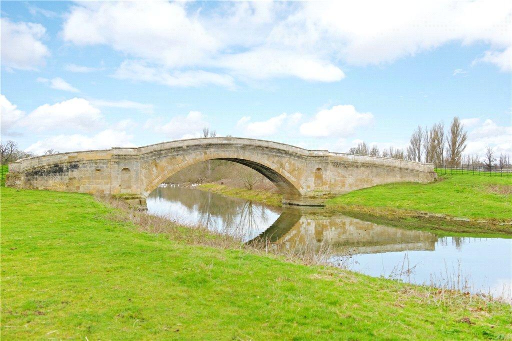 The Soane bridge at Tyringham House