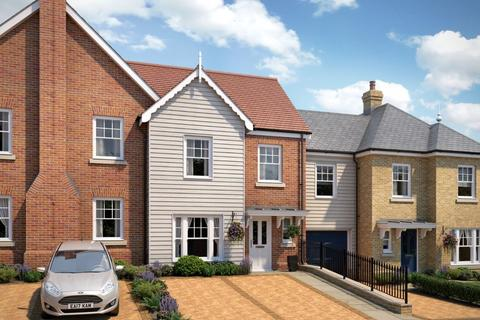3 bedroom terraced house for sale - Plot 9, The Helena, Queens Drive, Woodbridge, IP12 4NH