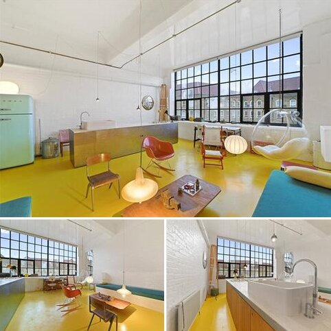 Character property to rent - Chimney Court, 23 Brewhouse Lane, London, E1W