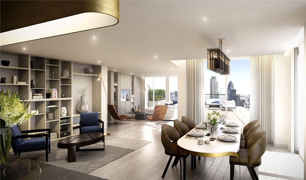 3 Bedrooms Apartment Flat for sale in Admiral Wharf, London Dock, E1W