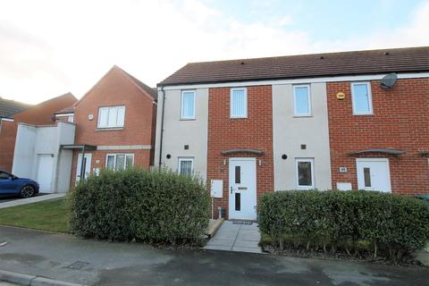 2 bedroom end of terrace house for sale - Greatham Avenue, Stockton-On-Tees