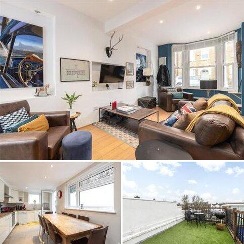 3 bedroom end of terrace house for sale - Wickersley Road, London, SW11