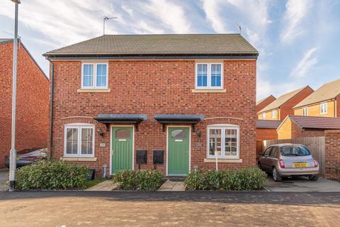 2 bedroom semi-detached house for sale - Harvest Road, Market Harborough