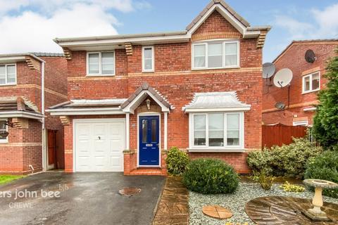 4 bedroom detached house for sale - Fox Covert Way, Crewe