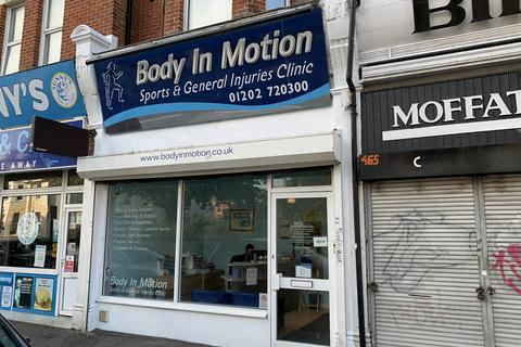 Retail property (high street) to rent - 467 Christchurch Road, Boscombe, Bournemouth BH1