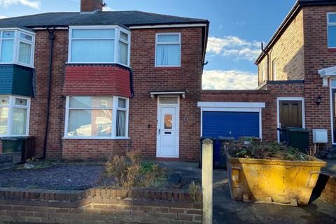 3 bedroom semi-detached house to rent - Willoughby Road, North Shields, Tyne and Wear, NE29 7NB